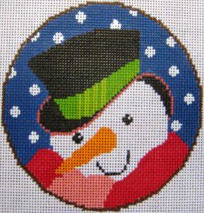 14-Snowman Ornament